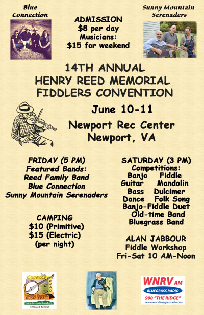 2016 Henry Reed Memorial Fiddlers Convention 11x17 Flyer (400x608)