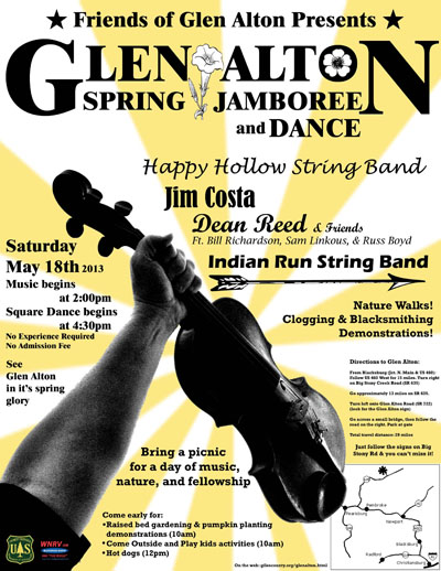 Glen Alton Spring 2013 Jamboree & Dance