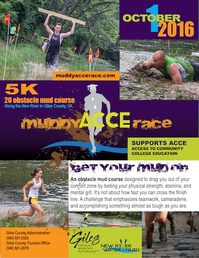 2016 Muddy ACCE Race Flyer
